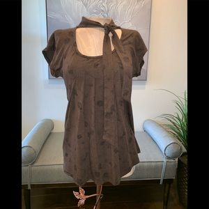 Ella Moss Blouse in Brown Size XS